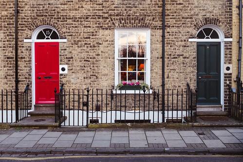 Red and grey #DoorsOfCambridge