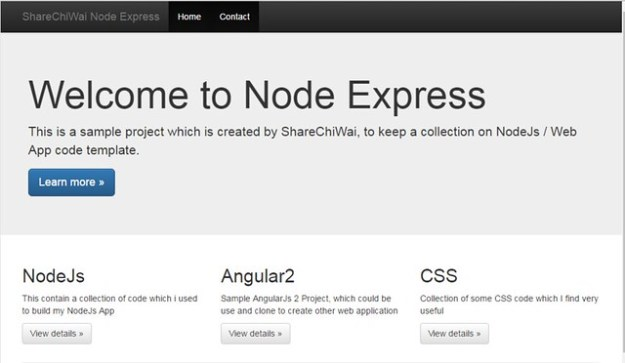 Node Express By ShareChiWai