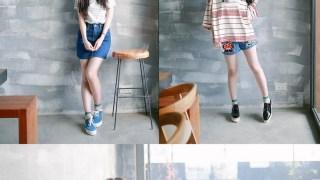 [穿搭] ORENDA女孩。藍色的條紋夏日