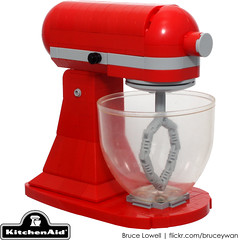 LEGO Kitchenaid Tilt-Head Stand Mixer