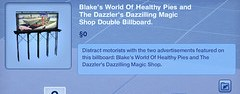 Blake's World of Healthy Pies Double Billboard