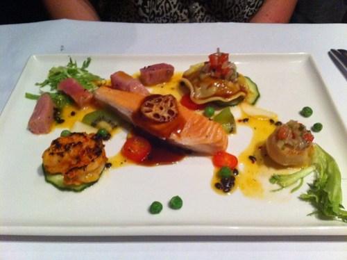 Ocean platter special, Nine Fine Food