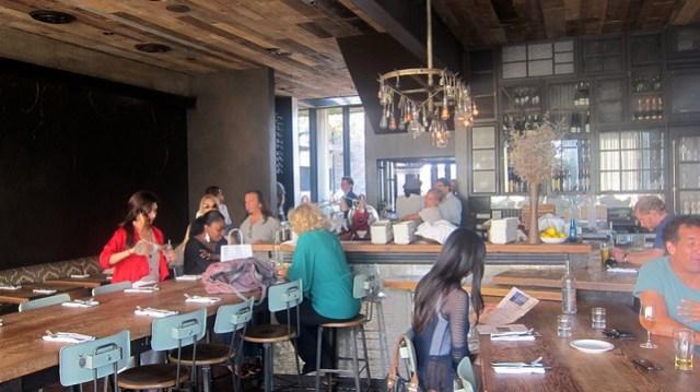 dining room at gjelina