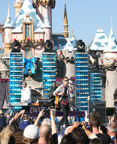 OneRepublic Performs for the 2011 Disney Parks Christmas Day Parade Airing December 25 on ABC.