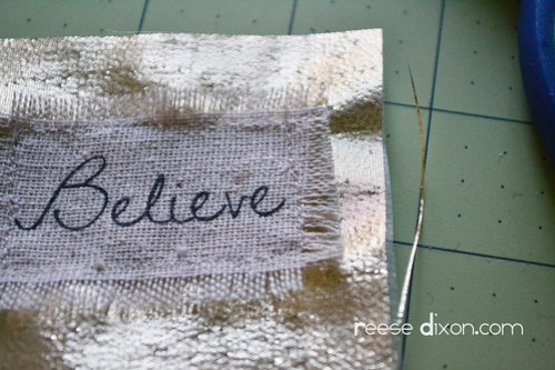 Believe Frame Step 5