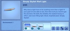 Simply Stylish Wall Light
