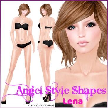 Angel Style Shapes - Lena Shape (Tall)