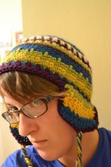 "FO:  ""Fair Isle"" Earflap Hat"