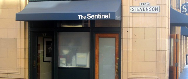 doorway to muffin heaven at the sentinel