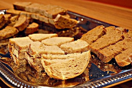 Assorted bread samples