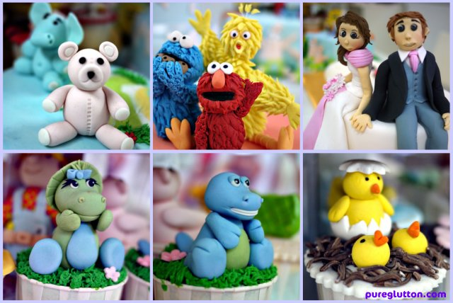 cakes collage