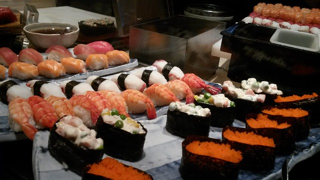 Sushi section
