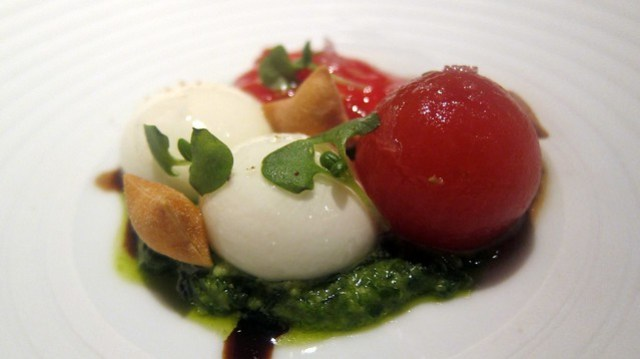 not your everyday caprese at saam