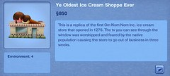 Ye Oldest Ice Cream Shoppe Ever