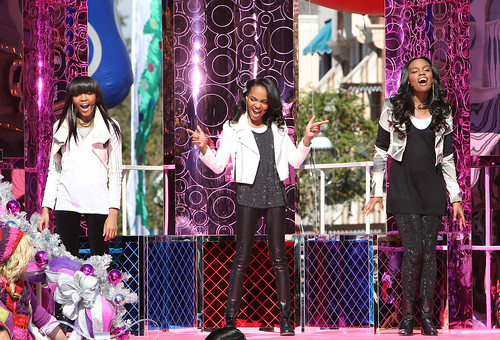 China Anne McClain Performs at Disneyland for 2011 Disney Parks Christmas Day Parade Airing December 25 on ABC