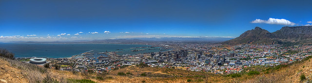 From Green Point to Table Mountain