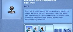 Luminous Oculous 9000 (Medium Floor Wall)