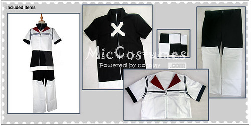 Kingdom Hearts Roxas Cosplay Costume_1