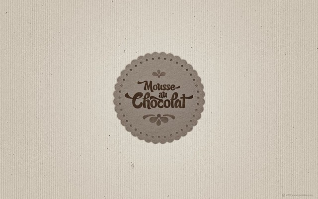 SUDTIPOS Candy Script Mousse Au Chocolat (for widescreen displays)