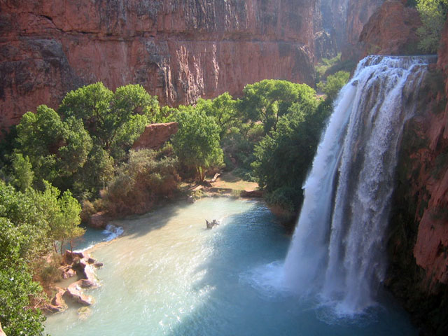 Hiking the Havasupai Trail
