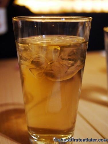 cold barley drink