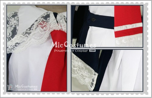 Castlevania Charlotte Aulin Cosplay Costume_2