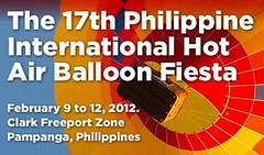 Philippine International Hot Air Balloon Fiesta Schedule
