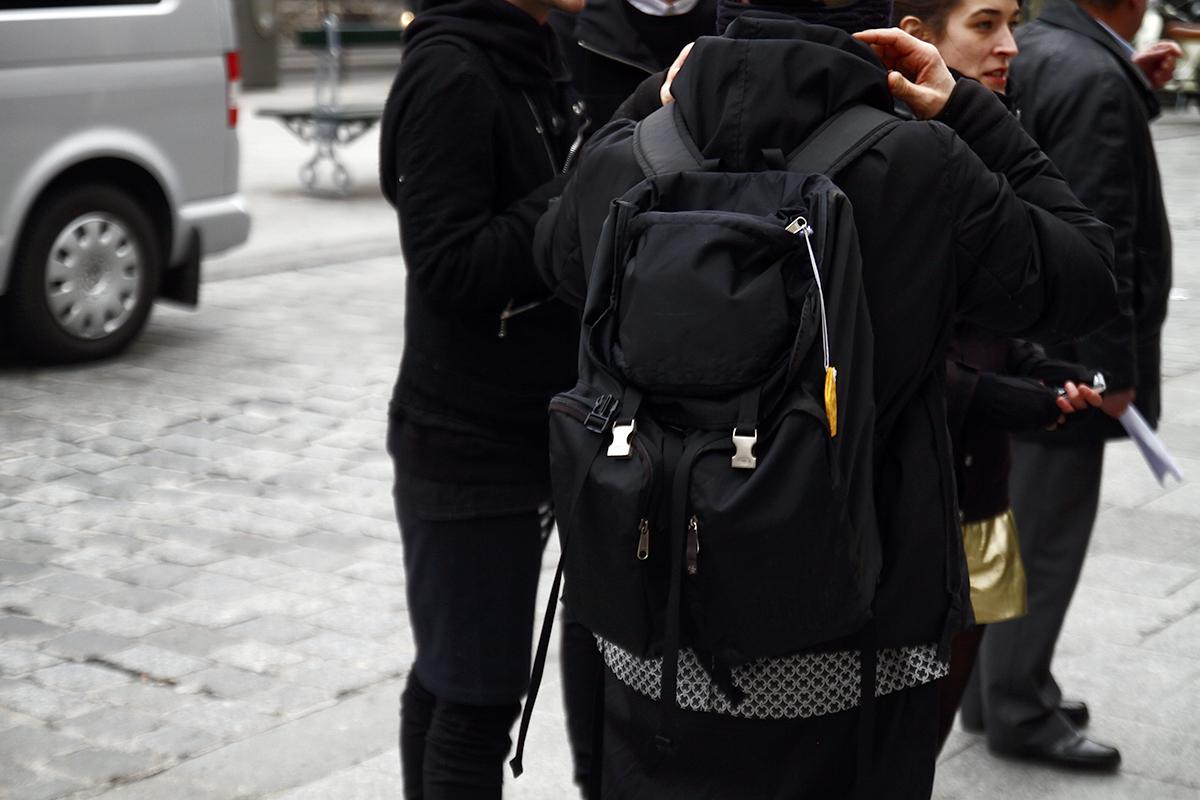Tuukka13 - 2012_01_20 Street Style outside Junya Watanabe, Mens Fashion Week Paris - 5