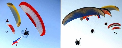 Motorized Paragliders