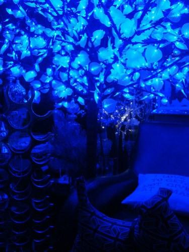 Blue Christmas tree 02