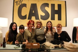 Frock Shoppe Maidens | From left to right: Sarah LaGreca Marla Reichert Liz Krebs Mary Jane Cox Jenni Lee Nelson Dori Abernethy
