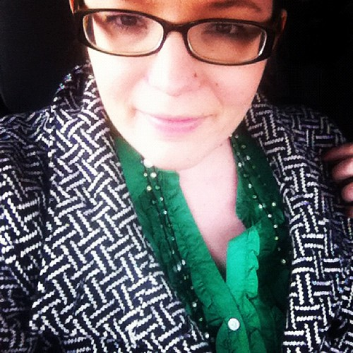 Today's green! Date night too! #17daysofgreen
