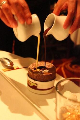 Chocolate Souffle - Palo