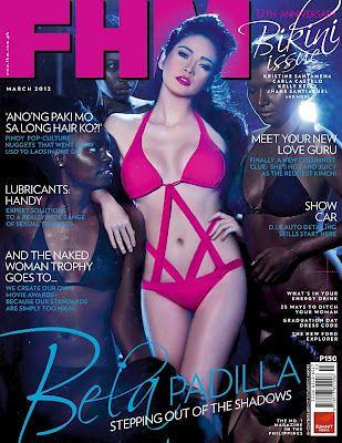 Bela Padilla - axed FHM cover