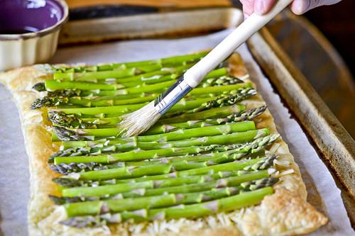Asparagus & Gruyere Tart 12