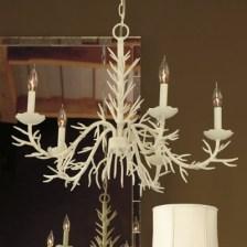 coral chandelier Ballard Designs