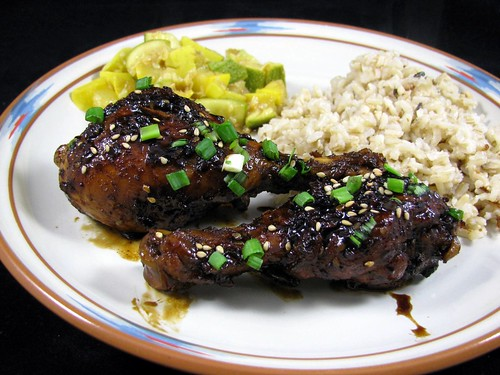 Gina's Spicy Asian Drumsticks