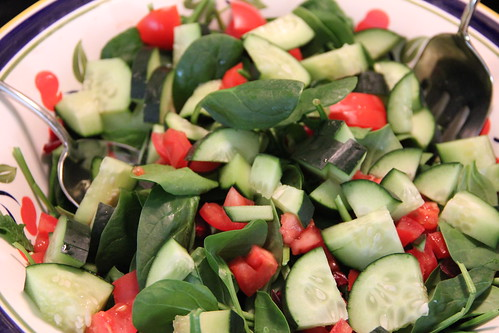 salad, course III