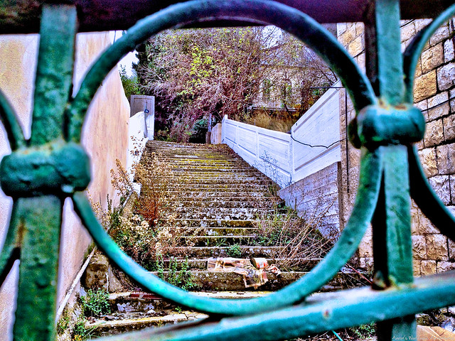Tzfat Staircase