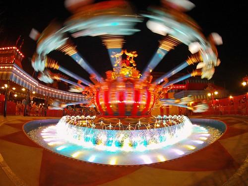 Dumbo at night - Storybook Circus