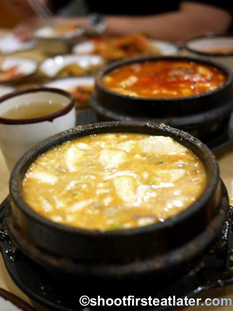 Soondubu - tofu soup