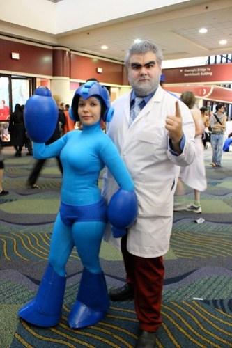 Mega Man and Dr. Light