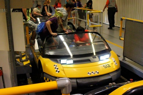 Ride vehicle - Test Track at Epcot