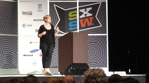 Jennifer Pahlka talking Code for America at a SXSW keynote