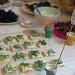 sandwiches mit wasabi & kresse