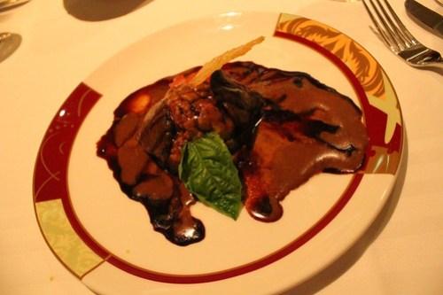 Grilled Portobello Mushroom and Polenta - Palo