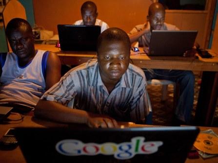 Liberian web designers. By Ken Harper.