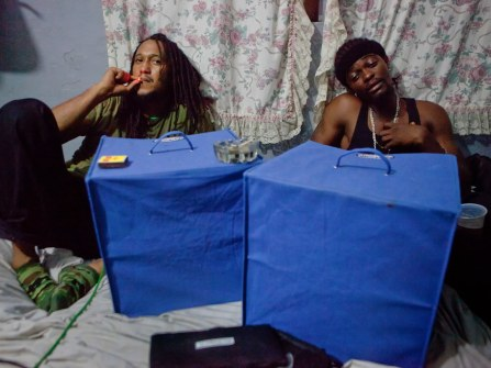 Nasseman and Takun J, soundbooth Interview. By Ken Harper.
