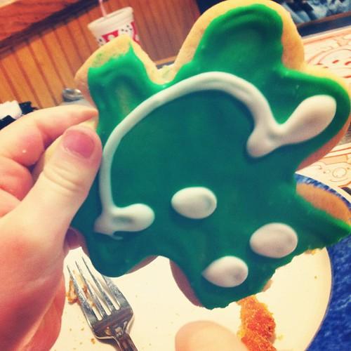 Shamrock cookies. #17daysofgreen