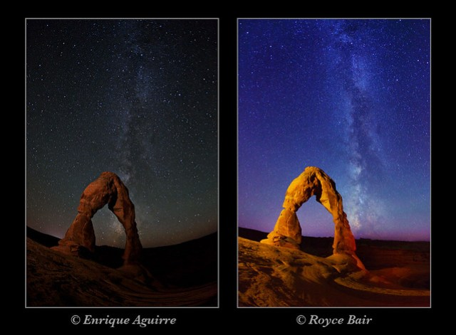 Different NightScape Styles